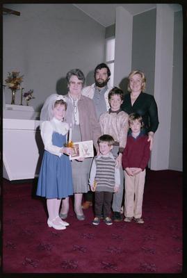 St Philomena, Group; 04 May 1986; WD.050730