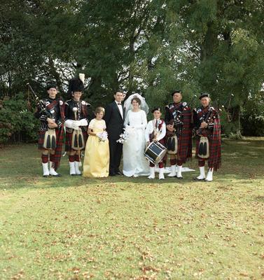Hutchinson, Wedding