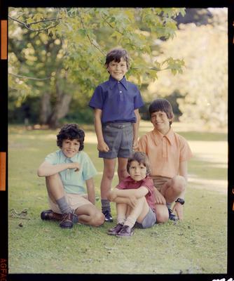 Andrew, Stephen, John & Christopher Worsley