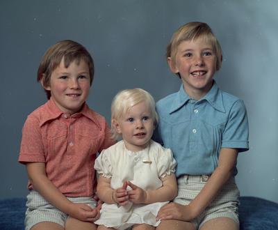 Tony, Sheryl and Darrell Harris