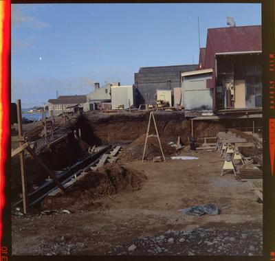 Worker Man's Club, Building Site