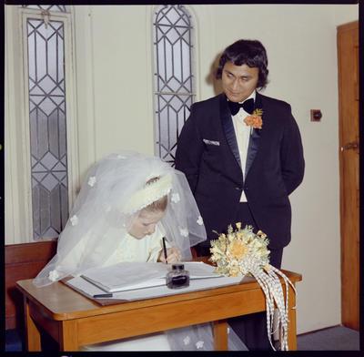 Walters, Wedding