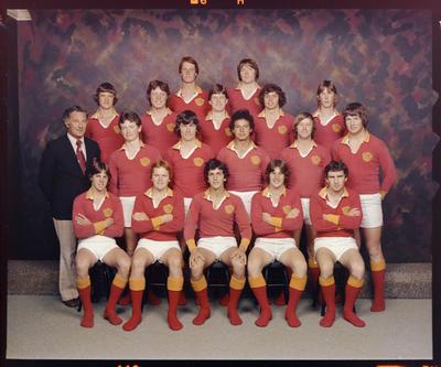 Francis Douglas First XV, Team