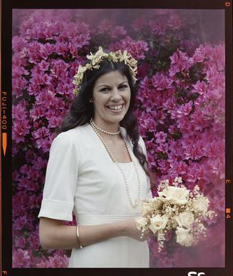 Mayhew, Wedding