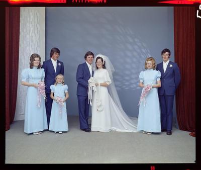 Barron-Allen, Wedding
