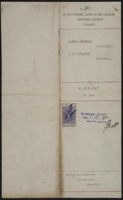 Rasmus Anderson, Plaintiff. J. G. Buchanan, Defendant. [item]