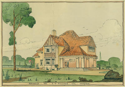 Residence at Ohangai fo G.W.A. Williams Esq. [plans]