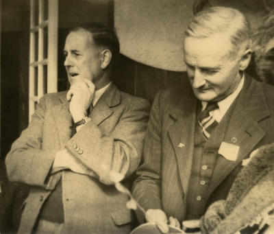Russell Matthews and Victor Caddy Davies