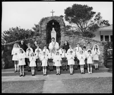 St. Pius X, First Communion Group