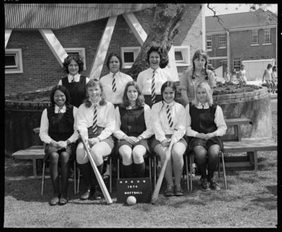 New Plymouth Girls High School, Softball Team