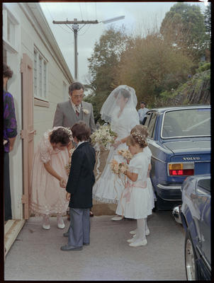 Brooker, Wedding