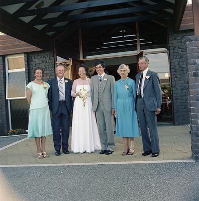 Clarke, Wedding