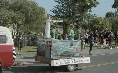 Warea School Centenary, Parade