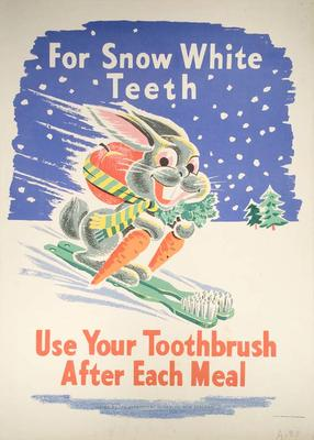 Use Your Toothbrush After Every meal [Poster]
