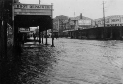 Central New Plymouth Flood, 1935