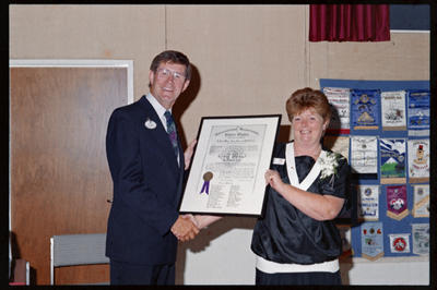 Puketapu Lions, Ron Laurence & Judy Ransom