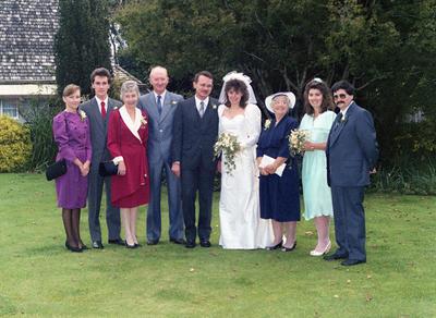 Gardiner, Wedding