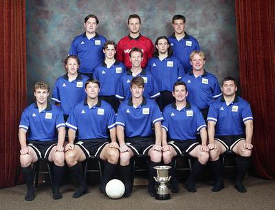 New Plymouth Rangers, Soccer Team.