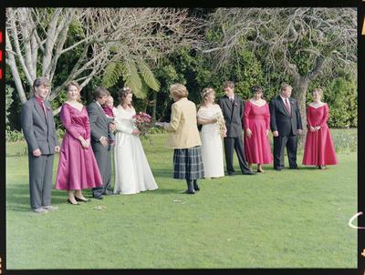 Gibson/Whitehead, Wedding