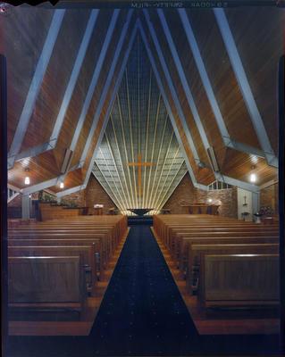 Whitely Church, Interior