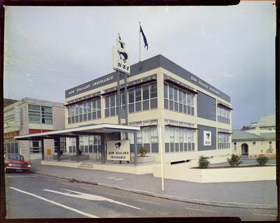 New Zealand Insurance, Building Exterior