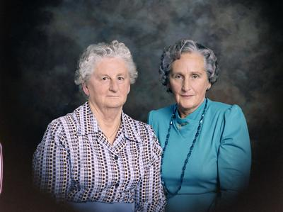 Phyllis Gardner and Dorothea Woolf