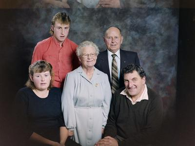 Brown, Family Group