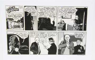 """""""Dick Sargeson: Dioxin Man, episode 58""""; 2009; 1980s; PA2009.101"""