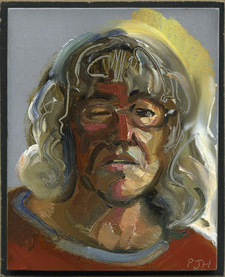 """""""Self portrait squinting in the light"""""""
