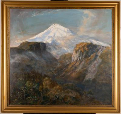 Mount Taranaki from Holly Flat