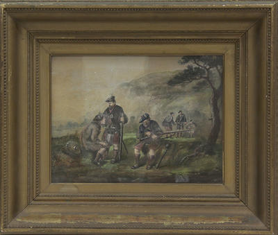 Soldiers of the Highland Regiment