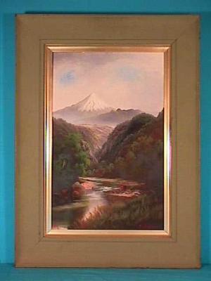 """""""Mt Egmont""""; Circa 1906-Circa 1910; A66.398"""