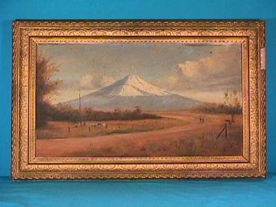 """""""Mt Egmont from the south with Fantham's Peak"""""""