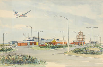 """""""New Plymouth Airport"""""""