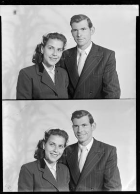 Stevenson, Couple; 24 Sep 1958; WD.005489