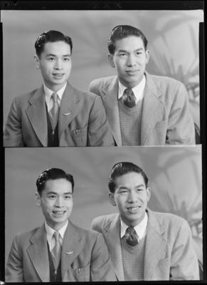 Henry Leong and Kee Fong Joe; 10 Jul 1957; WD.003216