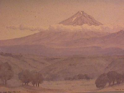 """""""Mt Egmont from near New Plymouth"""""""