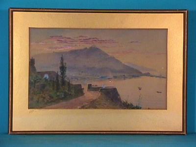 Untitled (Italian coastline)