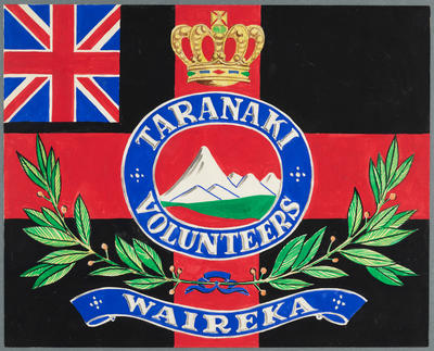 Colours of the Taranaki Rifle Volunteers