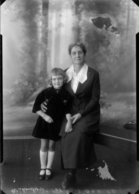 Unknown, Woman and Child