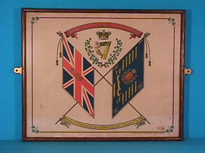 Colours of the First Battalion of the Royal Irish Regiment