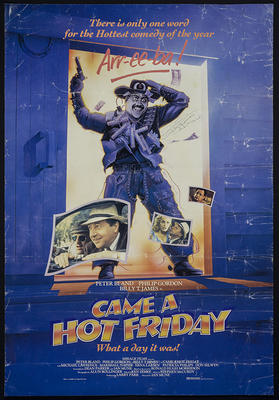 Came a Hot Friday [poster]