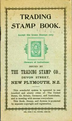 Trading Stamp Book