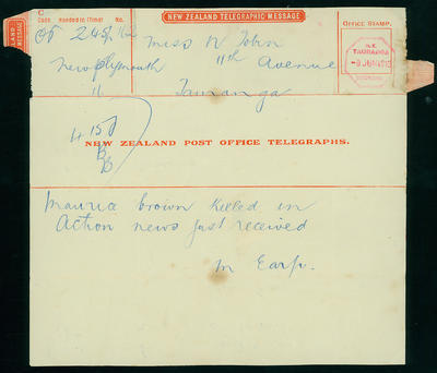 Brown, Morris Connington