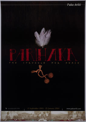 Puke Ariki exhibition posters and advertisement material, 2003-2004; 2003-2004; ARC2011-092