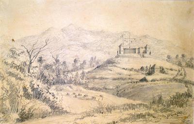 """""""Omata Stockade""""; 1861; A75.450"""