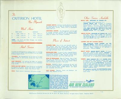The Criterion Hotel New Plymouth