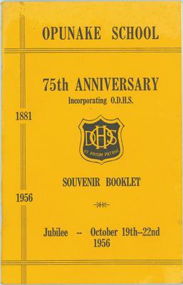 Opunake School, 75th Anniversary