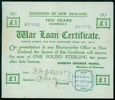 War Loan Certificate