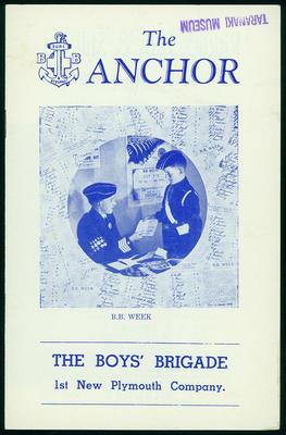 The Boys' Brigade 1st New Plymouth Company